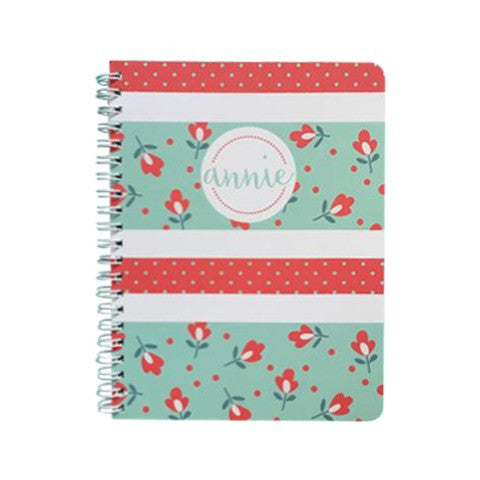 Acqua floral Mini Notebook