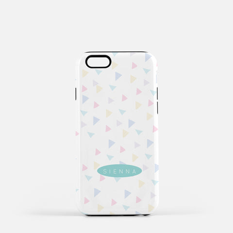Iphone 7/7 plus Triangle Confetti Case