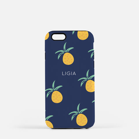 Iphone X personalized pineapple case