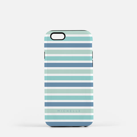 Iphone 7/7 plus Sea Stripes Case