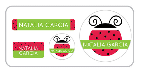 Ladybug Everyday Labels