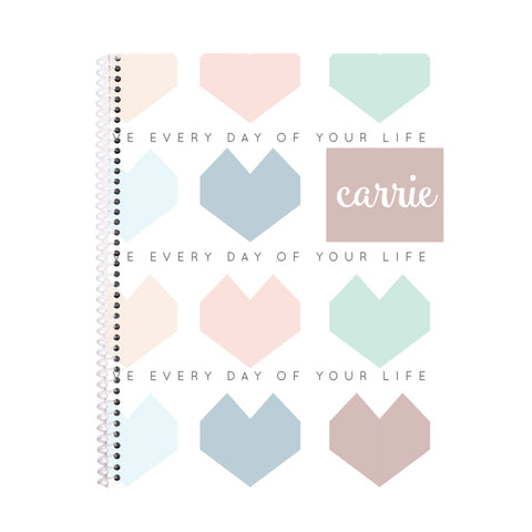 Love Everyday Notebook