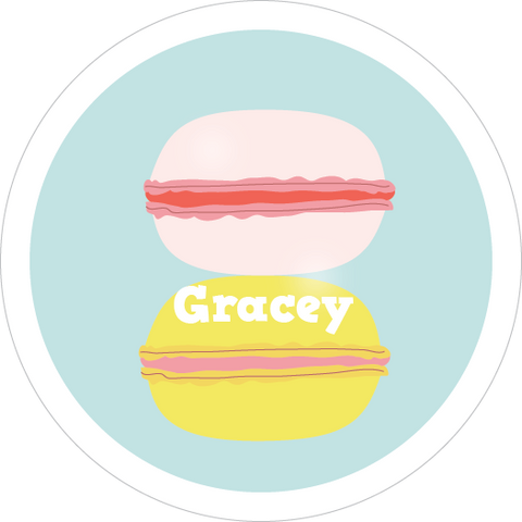 Macaron Water Resistant Labels