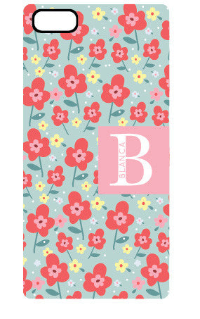 Mint Floral Iphone 6/6s Floral Case