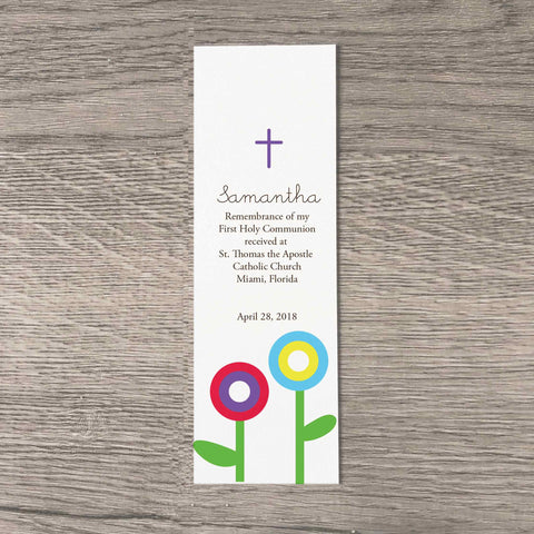 Modern Flower Bookmarks