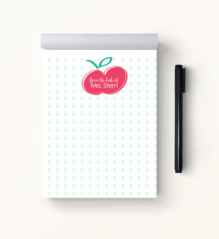 Sweet Apple Teacher Notepad