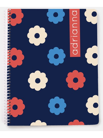 Pop Flower Notebook