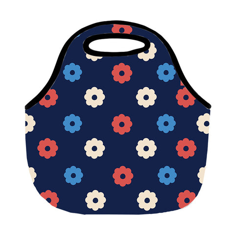 Pop Flowers Lunch Tote