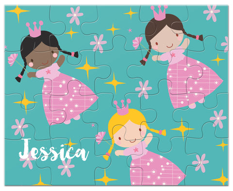 personalized princess puzzle