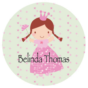 Cute Princess Label