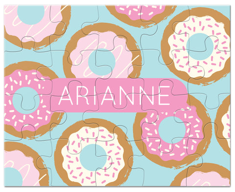 donut  personalized puzzle