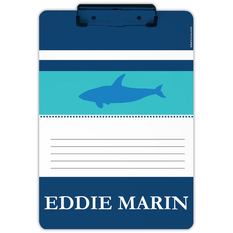 Blue Shark Clipboard