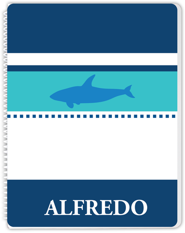 Blue Shark Notebook