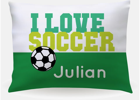 Soccer Boy Pillowcase
