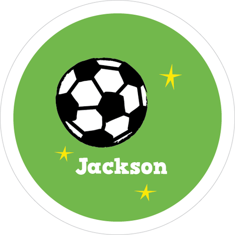Soccer Water Resistant Labels