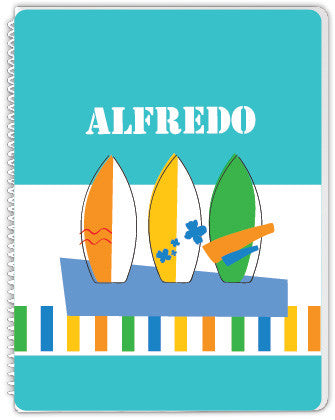 Surf Boards Notebook