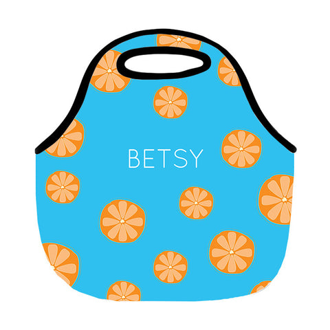 Tangerine Lunch Tote