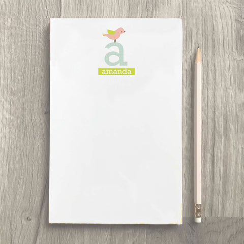 bird personalized planner