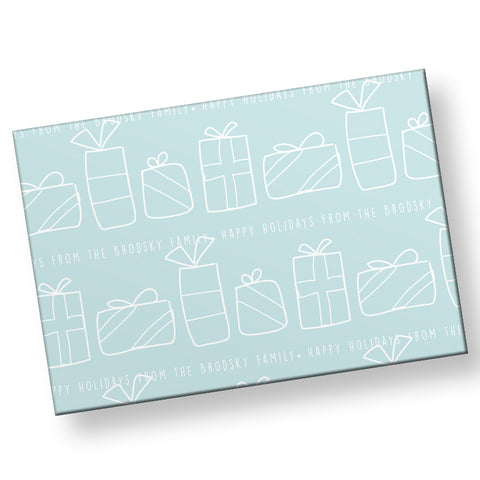 Winter Presents Gift Wrap