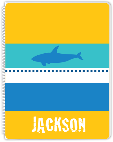 Yellow  Shark Notebook