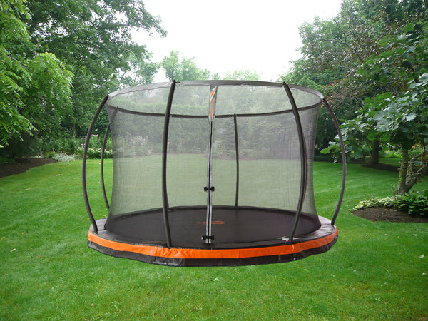 14ft In Ground Trampoline Amp Patented Safety Net Combo