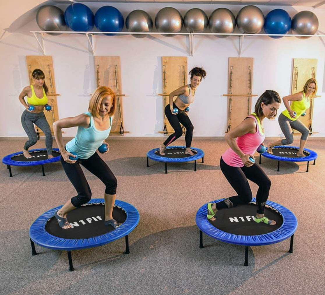 "40"" Fitness Trampoline for Adults"