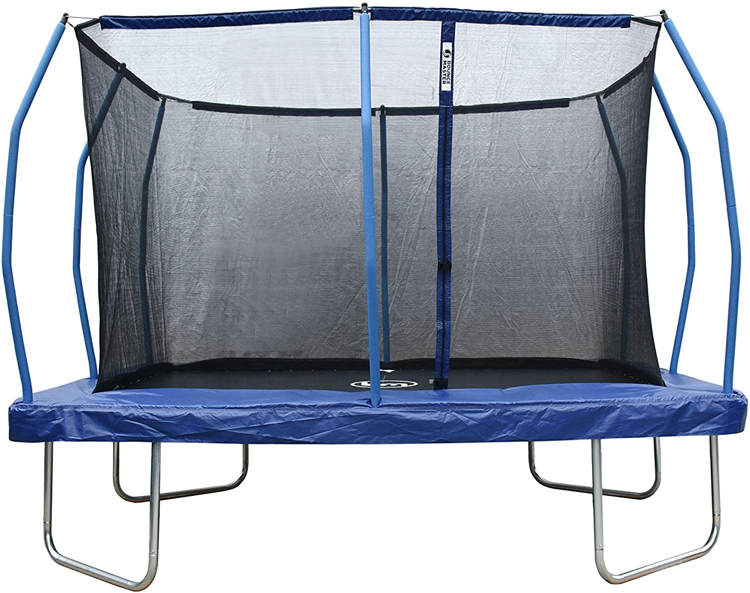 12ft. x 8ft. Rectangle Trampoline & Safety Enclosure- ASTM Safety Approved