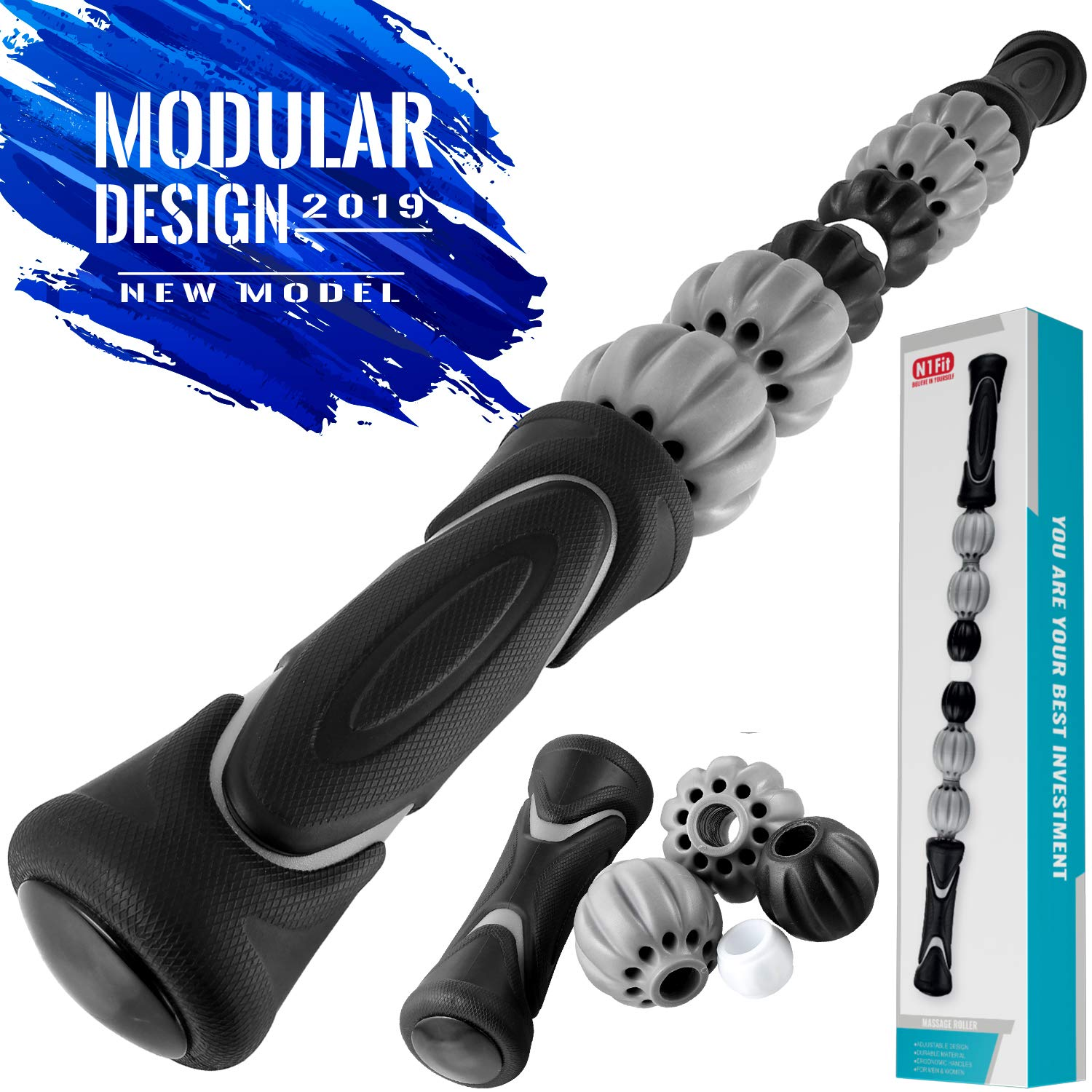 Muscle Roller Stick - Massage Stick for Relieving Muscle Soreness