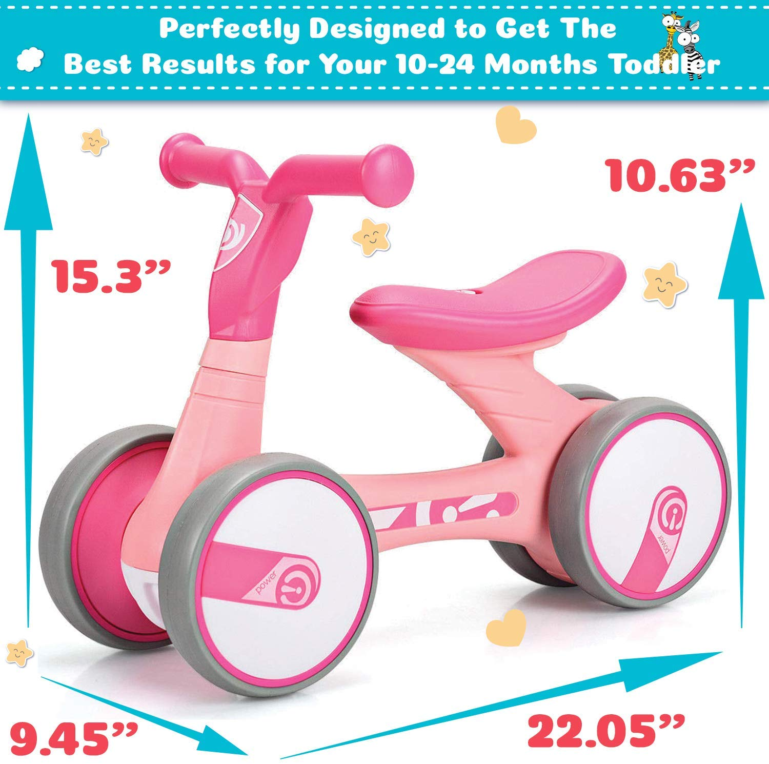 Avenor Baby Balance Bicycle Ages 1-2 Years Old