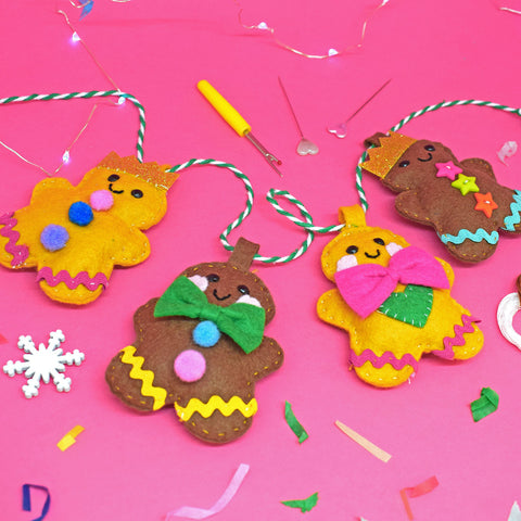 'Gingerbread Party' Garland Craft Kit