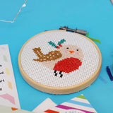 'Robin' Mini Cross Stitch Kit