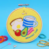 'Breakfast Time' Mini Embroidery Kit