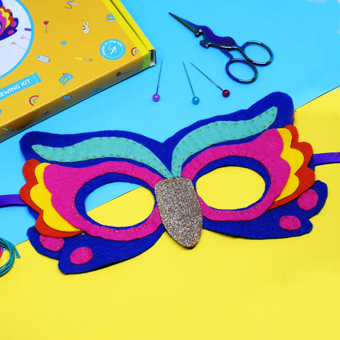 RAINBOW OWL MASK KIT