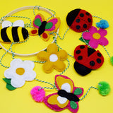 Bug and Bee Hanging Decoration Felt Kit