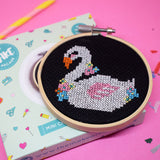 'Swan' Mini Cross Stitch Kit