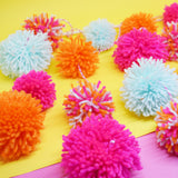 POM POM WALL HANGING DECORATION CRAFT KIT