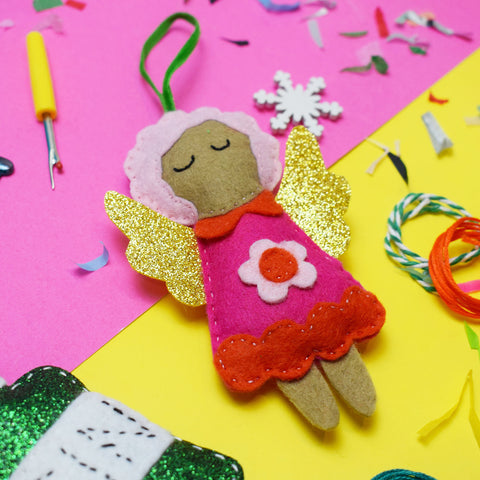 'Fairy' Mini Decoration Felt Sewing Kit