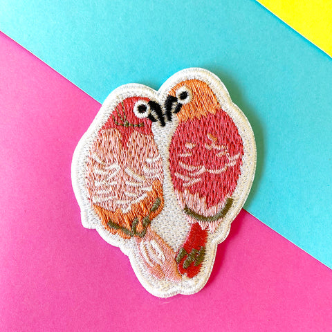 LOVEBIRDS PATCH