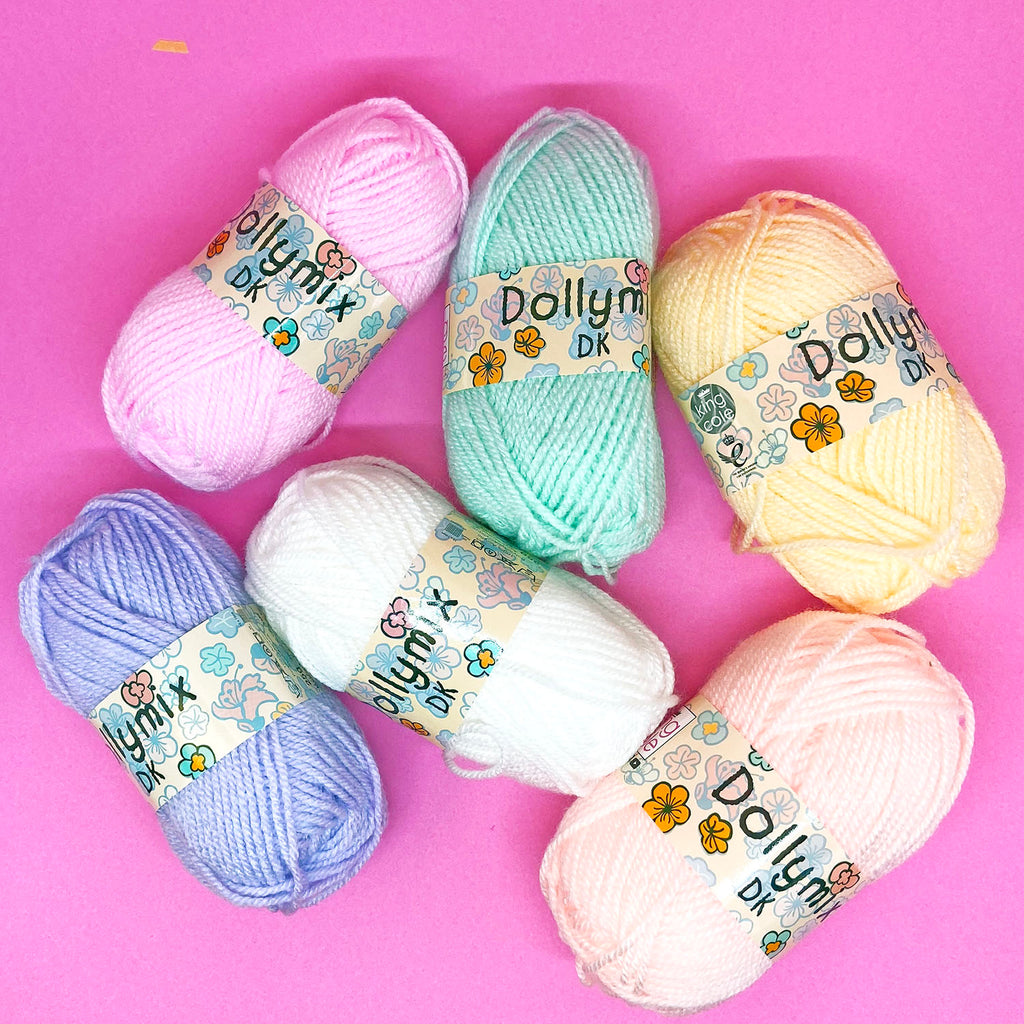 PRETTY PASTEL YARN SET
