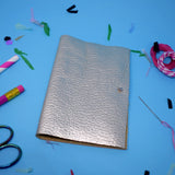 'SILVER' LEATHER NEEDLE WALLET