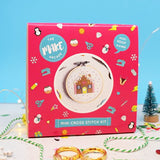 'Gingerbread House' Mini Craftmas Cross Stitch Kit