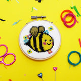 'Bella Bee' Mini Cross Stitch Kit
