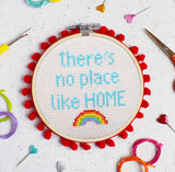 'There's no place like Home' Cross Stitch Kit