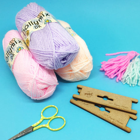 PASTEL TASSEL MAKING SET