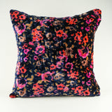 Abstract Bouquet Silk Velvet Pillow Cover