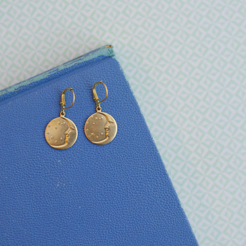 Woman in the Moon Earrings
