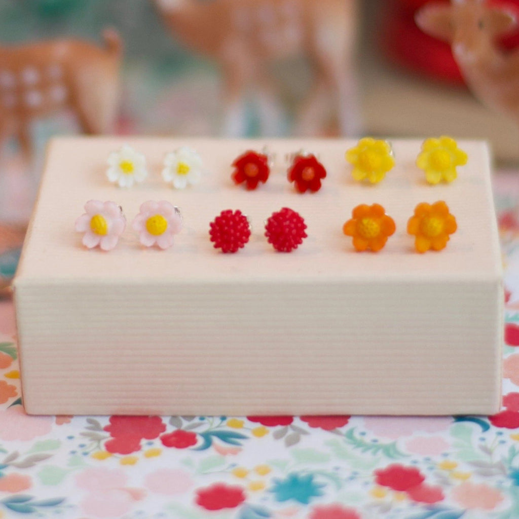 Baby Bloom Studs- 6 colors available