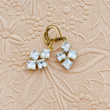 Vintage Tumbling Ice Earrings