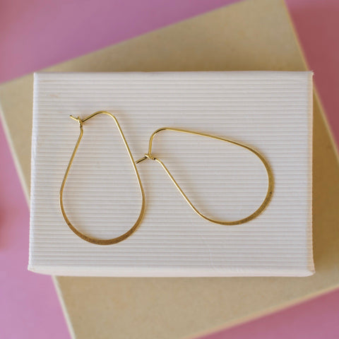 Elegant Gold Hoops
