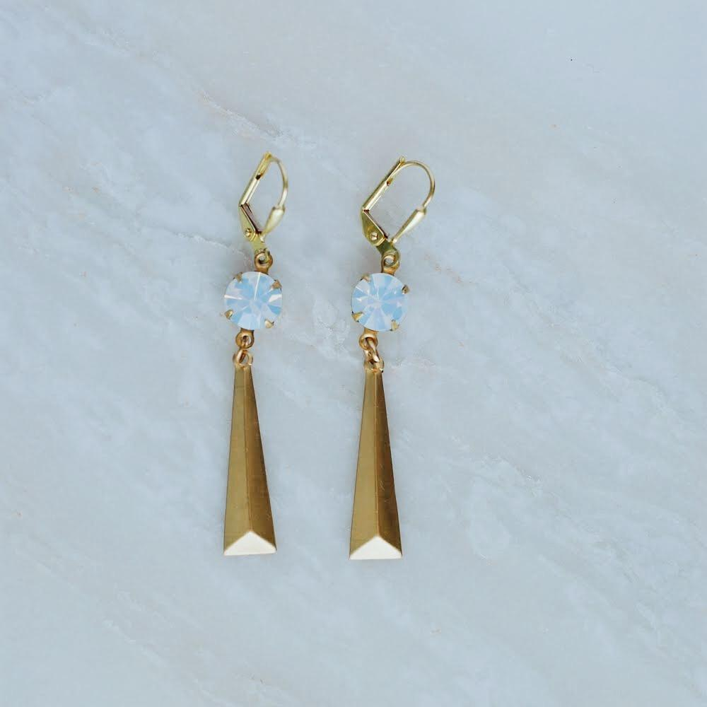 Flatiron Earrings